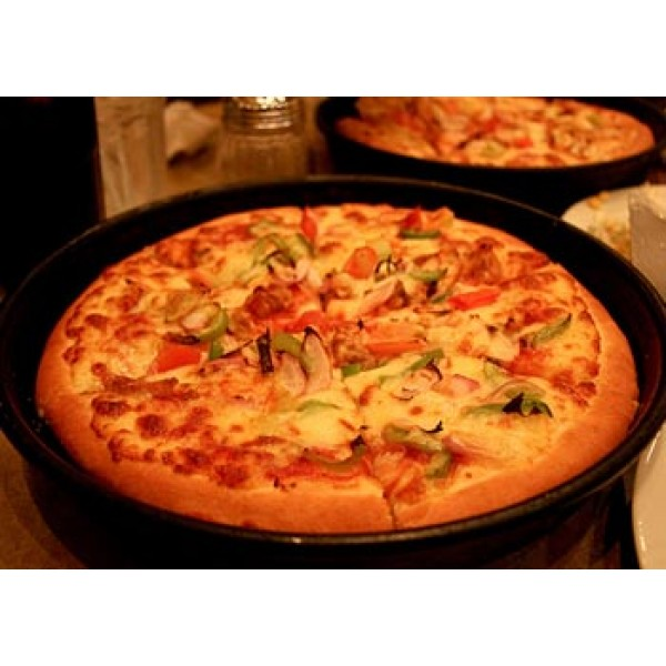 Grilled Chicken Pizza Large