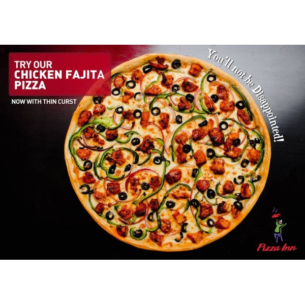 Chicken Fajita Pizza Large(13in)