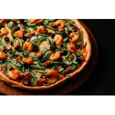 Seafood Pizza - Small (6in)